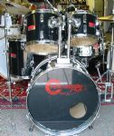 "PERCUSSION PLUS CENTURY 20"" FUSION KIT BLACK"